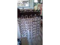 light shade / hanging crystals