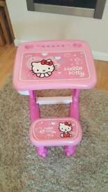 Hello Kitty Drawing Table