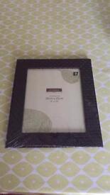 Unopened photo frame