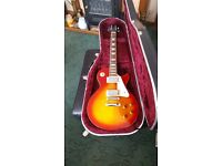 GIBSON LES PAUL EPIPHONE +FENDER AMPLIFIER & CASE