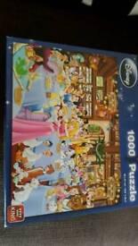 Disney 1000piece jigsaw puzzle