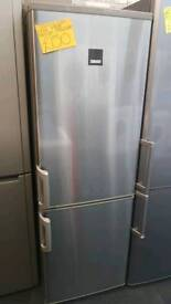 ZANUSSI GRAY  FROST FREE FRIDGE FREEZER