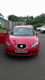 Red Seat Leon diesal perfect condition