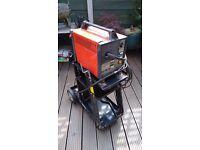 Mig welder & trolley sealey 130