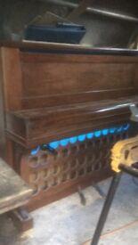 Rustic piano bar
