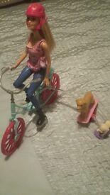 Barbie and Bike