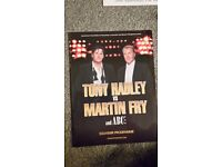 Tony Hadley v Martin Fry Souvenir Tour Brochure