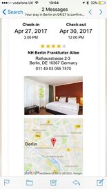 3 nights flights and hotel to Berlin leaving from London Luton
