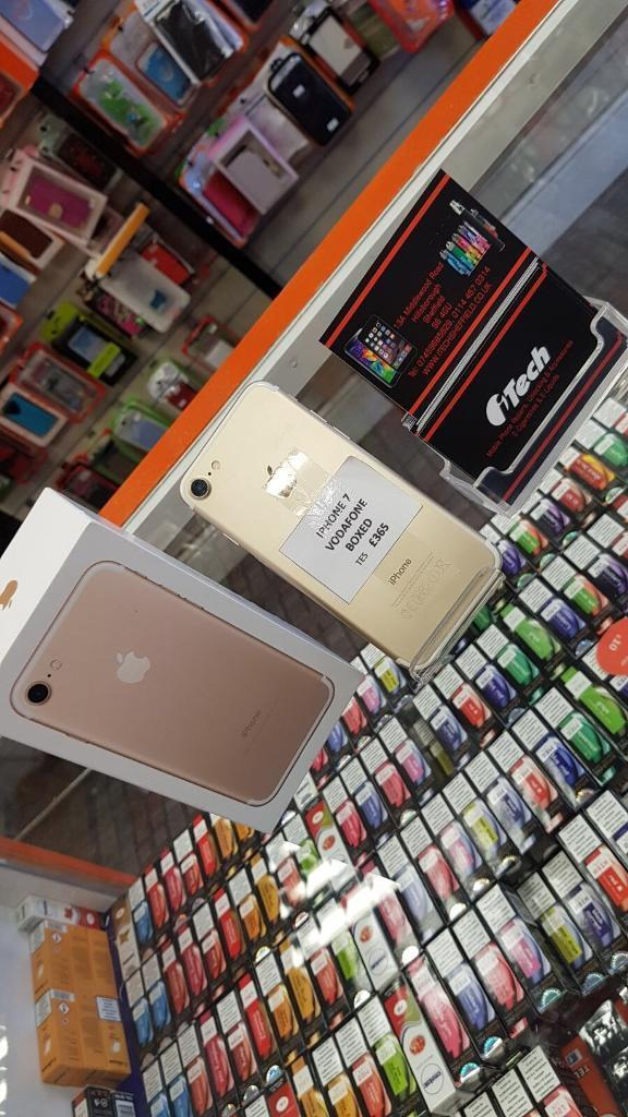 iPhone 7 boxed gold