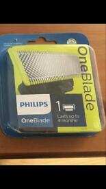 New Philips one shave blade