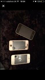 iPhones for spares or fix