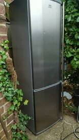 """Free delivery""FABULOUS AEG SANTOS Fridge Freezer ""SUPER CLEAN CONDITION 124.99 Offers considered"