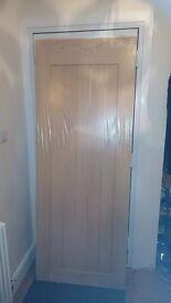 Genoa oak door brand new still in cellophane bargain