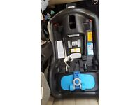 Baby accessories including car seat, isofix, moses basket, baby chair, stroller