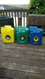 Jerry can speakers