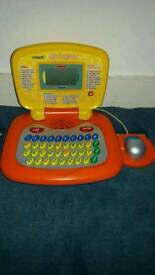 Vtech Laptop with mouse.