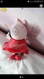 Ring o ring a roses Peppa pig