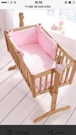 Baby crib Clare de lune