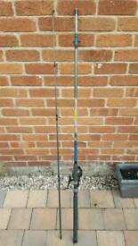 12ft sea fishing rod with bag
