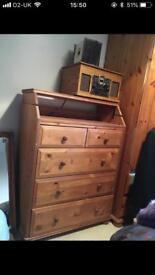 Chest of drawers/ bureau