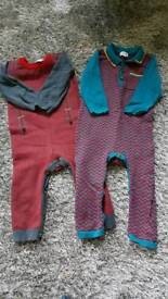 Baby boys 6-9month Bows & Arrows baby suits