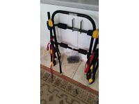 Used Halfords high mount 3 bike carrier. Bargain price.