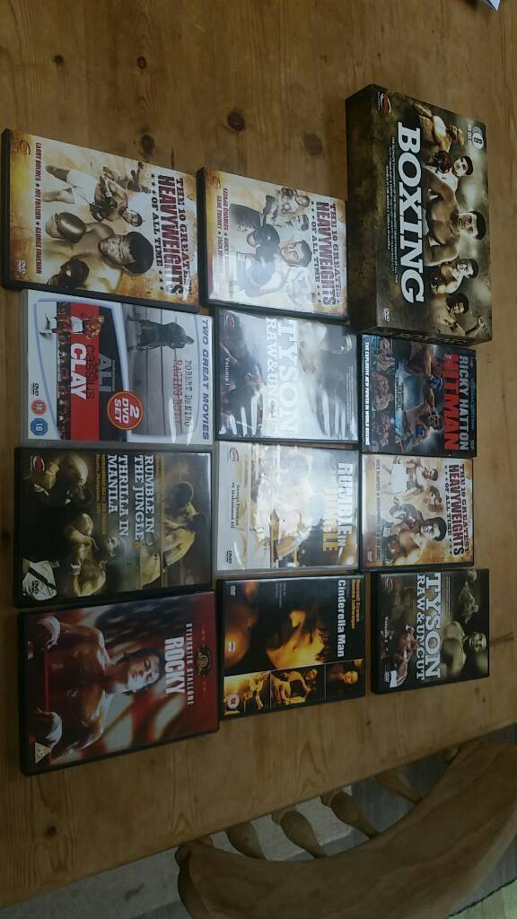 Boxing dvd collection