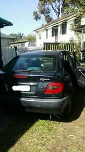 2000 Citroen Xsara Hatchback Seven Hills Blacktown Area Preview