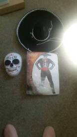 Mans day of the dead costume