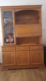 Cabinet and TV table