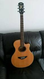 GUITAR YAMAHA APX A4 ACOUSTIC ELECTRO