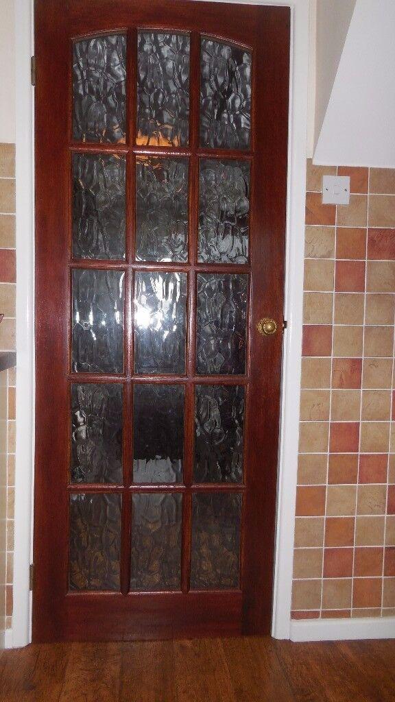 Interior Glass Paneled Doors.