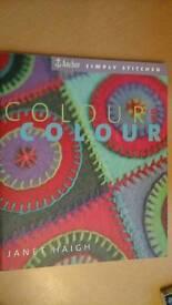 Colour colour book by Janet Haigh.