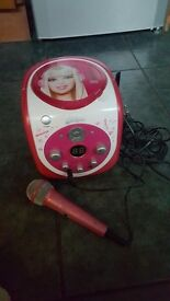 Barbie cd player