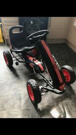 Go kart in good condition handle out the house must colllect