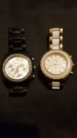 2 DKNY Womens Watches Working Used