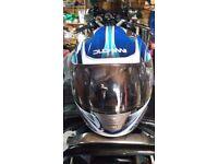 Duccini crash helmet (Large)