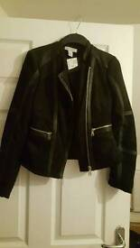 Lovely suede effect jacket rrp 49.99