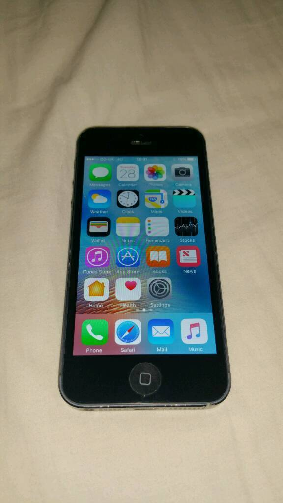 IPhone 5 16gb Black O2in Ballymena, County AntrimGumtree - IPhone 5 16GB black. O2. Software updated. No icloud or find my iphone lock. Good honest phone, few age related marks. No damage to screen