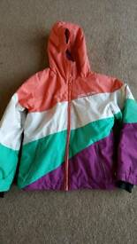 Billabong Skiing Jacket Girls Age 10