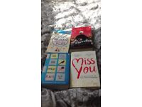 4 books £15. All The Bright Places, Miss you, Billy and me JoJo Moyes Paris for one