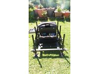 daiwa 150 seat box hardly used,very gd condition collection warboys . contents not included