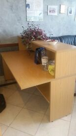 Office desk. Free to whoever wants to take it. Its in a ground floor shop