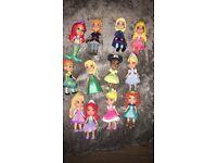 Disney little figures for sale x 12 like new