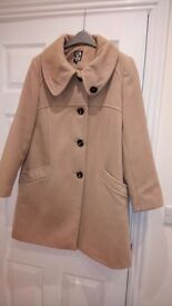 Wool blend ladies coat