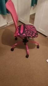 Computer desk swivel chair