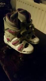 Girls Roller Skates Size 13 £5