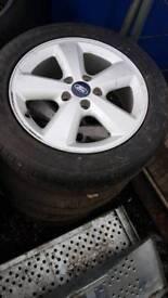 Ford alloy wheels 205 55 r16