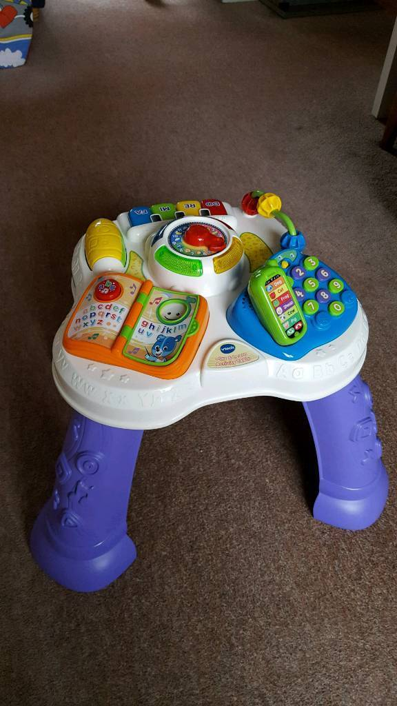 Vtech activity table and walker