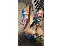 Ladies designer shoes size 6
